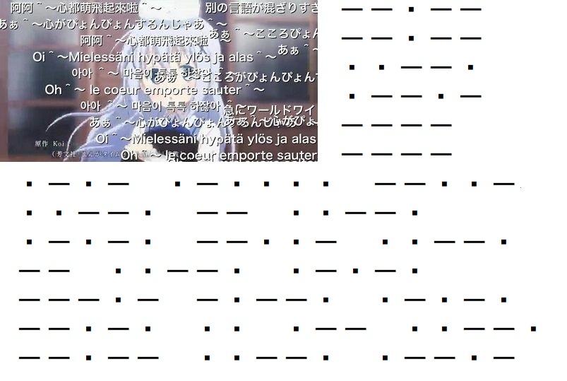 モールス 信号 英語 モールス信号を英語で訳す - goo辞書 英和和英
